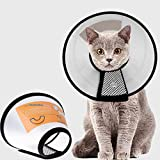 Supet Collari Protettivi e Coni Collare Protettivo Forma Cono per Cane Gatto Ferita Recupero Guarigione Collare Anti Morso o Leccata