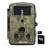 Crenova RD1000 Infrared Night Vision Waterproof Hunting Trail Game Camera with 42pcs Low Glow IR LEDs Digital Surveillance Camera