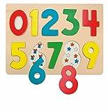 FATTI DO puzzle game GAME numero LEGNO numero Giocattoli di legno Kinderland