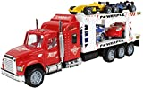 #8: Webby 1:32 Transporter Truck with 4 Cars