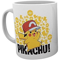 GB eye LTD, Pokemon, Ash Hat Pikachu, Taza
