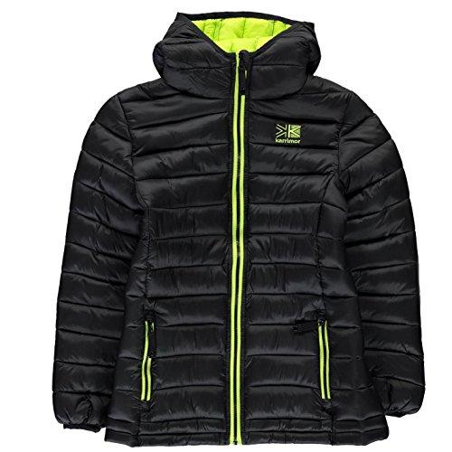 Karrimor Kids Hot Crag Insulated Jacket Junior Down Coat Top Long Sleeve Chin