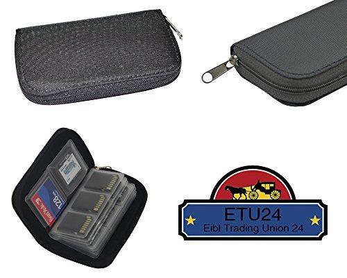 Speicherkarten Schutzbox wasserdichte Boxen in verschiedenen Ausführungen für SD, SDHC, MicroSD, MMC, SC und Compact Flash Karten Cards Case von ETU24 (Tasche für SDHC MMC CF MicroSD und SD Karten)