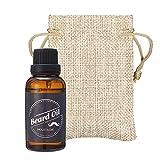 Skymore Valentinstag Geschenk Bartöl mit Ätherische Öl Squalane und Vitamina E, Beard Oil, Intensiver Feuchtigkeitsspender, Bartpflegeöl für Männer, 30ml