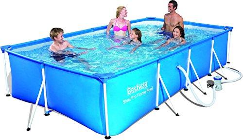 Bestway Frame Pool Steel Pro Set 400x211x81 cm