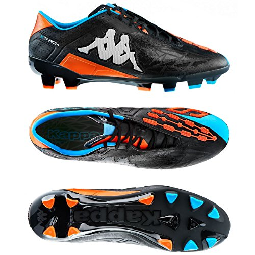 Sportschuhe - Kappa4soccer Starch Fg Black-Orange Fluo