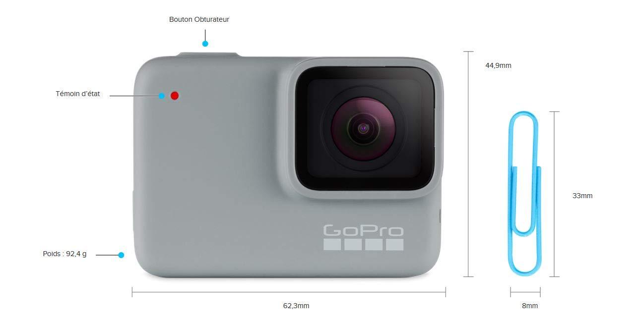 GoPro HERO7 White - Waterproof Digital Action Camera with Sleeve Plus Lanyard 5