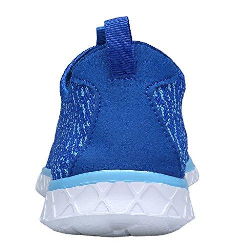 XKMON Uomini Leggero Rapido Asciugatura Scarpe su Scarpe di Acqua Aqua Blu reale