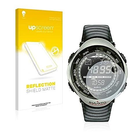upscreen Reflection Shield Matte Film de protection d'écran Suunto Vector Khaki (Mat et Anti-Reflet, anti-trace, application sans soufflures, découpe sur mesure)