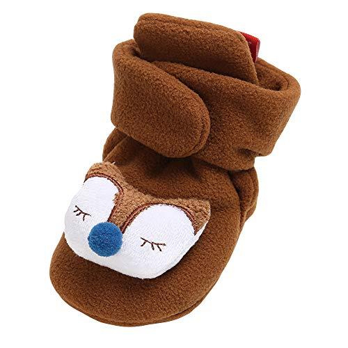 LEXUPE Baby Schuhe, Mädchen Baumwolle Schuhe halten warme Mode Kleinkind erste Wanderer Kinderschuh