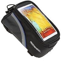 Supporto bici porta iPhone 4 4s 5 HTC One Samsung S2 S3 S3 mini custodia impermeabile tubolare touch