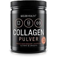 Collagène de bœuf Protéine poudre Gelatine – 500g Collagen Hydrolysat Peptides Type I et type II Complement Alimentaire