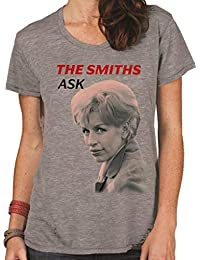 The Smiths Ask Women's Fit Fashion Quality Heavyweight T-Shirt.