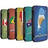 Stuff4 Coque/Etui/Housse Cuir PU Case/Cover pour HTC Desire 530 / Pack 28pcs Design / Drapeau Pays Collection