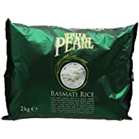 White Pearl Basmati Rice 2 kg (Pack of 5)