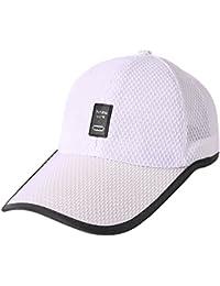 ManLJZ Cappello da Baseball Cappelli a Rete Traspirante Estivo per Sport  Hip Hop Cappellini da Baseball,Unisex Cappello per Il Tempo Libero… 5be767781ba6