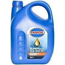 Tamoil olio SuperMulti SAE 15W-40 benzina diesel gas gasolio lubrificante 4lt