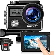 Campark Action Cam HD 20MP 4K WIFI Action Camera Touch Screen Macchina Fotografica Subacquea 40M con Custodia