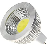 SODIAL(R)MR16 5W COB LED Spotlight Lampara Bombilla de alta potencia Ahorro de energia AC 12V Blanca