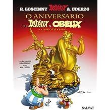 O aniversario de Astérix e Obélix. O libro de ouro (Galego - Salvat - Comic - Astèrix)