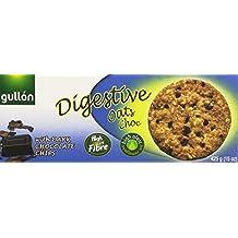 Gullón Digestive Avena Galleta Integral con Avena, Trigo y Gotas de Chocolate Negro - 425