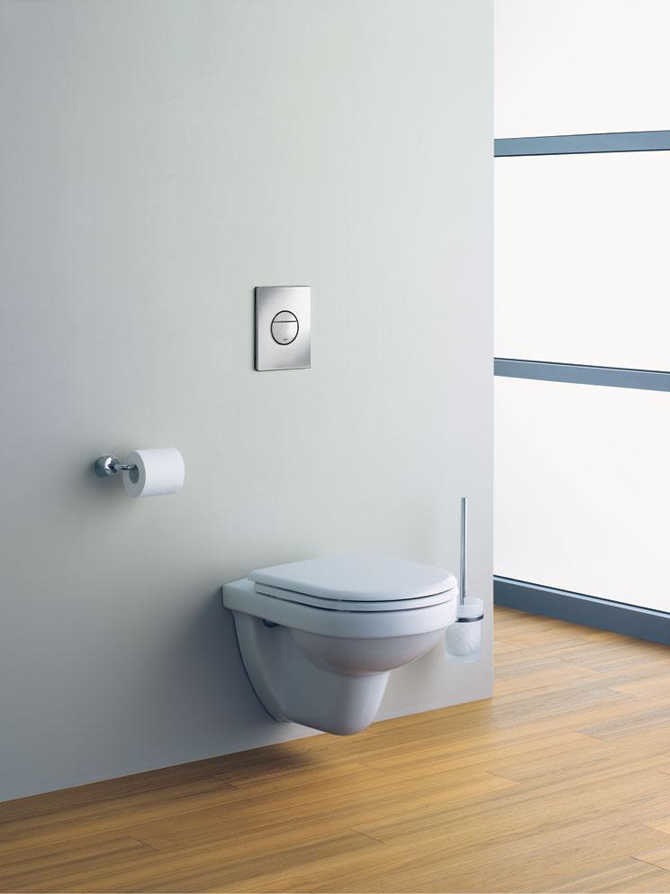 Grohe plaque de commande wc nova cosmopolitan 38765000 - Plaque de commande grohe ...