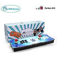 Spmywin 720P Full HD Real Pandora's Box 5S Arcade Video Game Console 1500 Juegos Retro Consola Arcade Video Gamepad Botones Personalizados Lista Inteligente