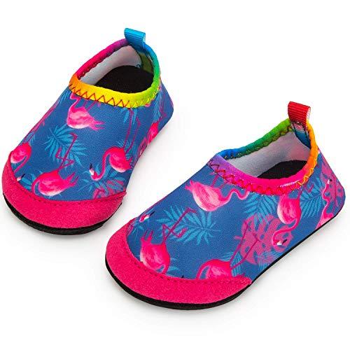 Yorgou Baby Strandschuhe Schwimmschuhe Badeschuhe Wasserschuhe Schnelltrocknende Aquaschuhe rutschfest Barfuss Schuh für Kinder Beach Pool - Schuhe Baby Kinder