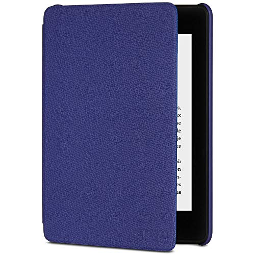 Étui Amazon en cuir pour Kindle Paperwhite (10ème génération - modèle 2018), Violet indigo