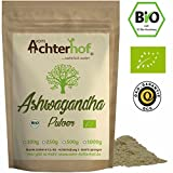 Ashwagandha Pulver BIO 500g |100% ECHTE Ashwagandhawurzel gemahlen aus Indien | indischer Ginseng | Ayurveda