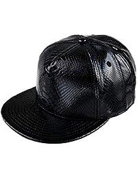 09423c2dc8a98 Emmala Hombres Hombres Gorras De Unisex Hip Hop Béisbol Planas con Estilo  único Rock Punk Cap