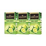 #10: Golden Tips Earl Grey Green Tea Pack of 3 - 25 Tea Bags, 50g Each