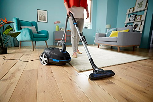 Philips Performer Bagged Cylinder Vacuum Cleaner, Dog and Cat Hair and Anti-Allergen FC8578/69