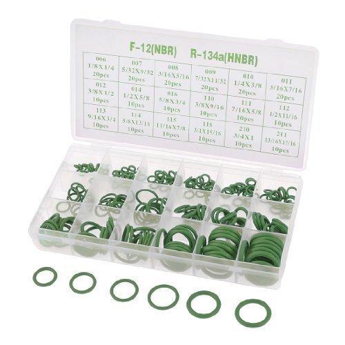sourcingmapr-240-pezzi-18-formati-hnbr-auto-aria-condizionata-a-c-sigillo-o-ring-verde-caso-di-w