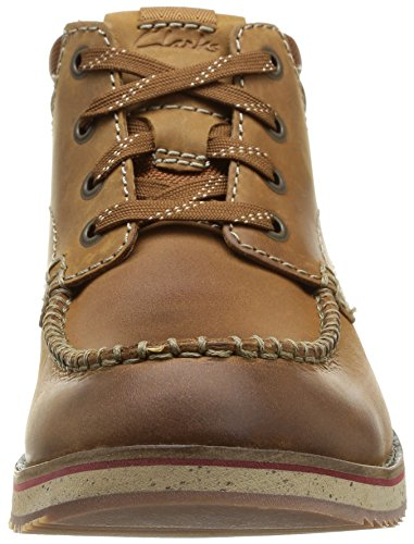 Clarks Mahale Mid, Boots homme Marron (Tan Leather)