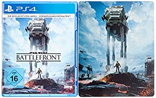 Star Wars Battlefront - Steelbook Day One Edition (exklusiv bei Amazon.de) - [PlayStation 4] (B015HD3OXO) | Amazon price tracker / tracking, Amazon price history charts, Amazon price watches, Amazon price drop alerts