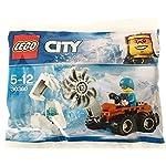 LEGO 30360 City Arktis - Sega Rara per seghe artistiche, Multicolore  LEGO