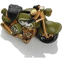 Booster Motorrad Spardose Motorrad 13G grün Bikergeschenk
