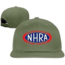 z-jane NHRA Racing sol protección gorra de béisbol gorra de hip hop ajustable Gorra Plana Bill azul marino