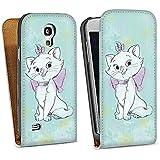 Samsung Galaxy S4 mini Tasche Schutz Hülle Walletcase Bookstyle Disney Aristocats Marie Fanartikel Merchandise