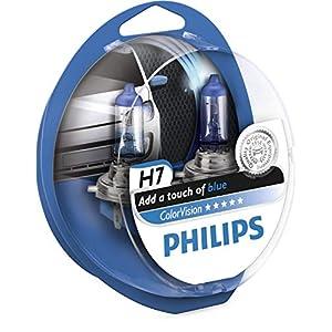 Philips 12972CVPBS2 Fahrzeuglampe ColorVision H7, Blau, 2 Stück