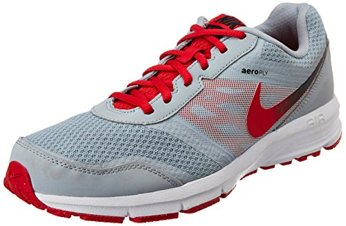 Nike Men's Red and Grey Mesh Running Shoes (685139-005) - 12UK/India (47.5EU)