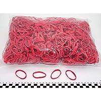 Progom - Gomas Elasticas - 50(ø32)mm x 5mm - rojo - bolsa de 1k