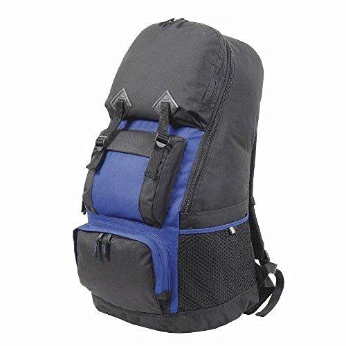 Shugon - Maxi Zaino per Escursionismo (75L) (Taglia unica) (Nero/Blu reale) Nero/Blu reale