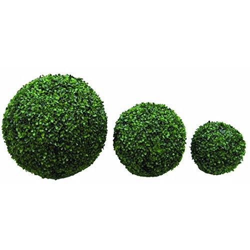 Sphère synthétique Bosso Ø28 cm Papillon Couleur Vert