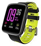 YAMAY Smartwatch Wasserdicht IP68 Smart Watch Uhr mit Pulsmesser Fitness Tracker Sport Uhr