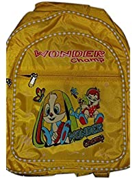 Shalu Bag For Children Yellow Color Trendy School Bag (Set Of Three Piece)