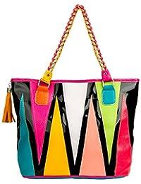 VanGoddy Harmony Classique Fashion en Toile Sac à main Fourre-tout Shopper