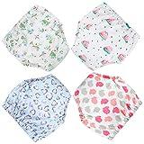 Pantalones de Entrenamiento para bebés Ropa Interior de Entrenamiento Orinal Pañales Pantalones de pañales para el Entrenamiento del baño Entrenamiento 6-30 Meses, 4 Piezas