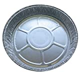 """(Pack of 20) 6"""" Foil Flan Dishes, Cases, aluminium trays for baking"""